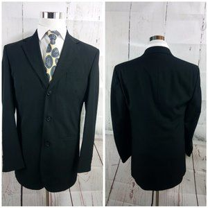 City Streets Suits & Blazers - City Streets Custom Fit Black Suit Blazer Sports C